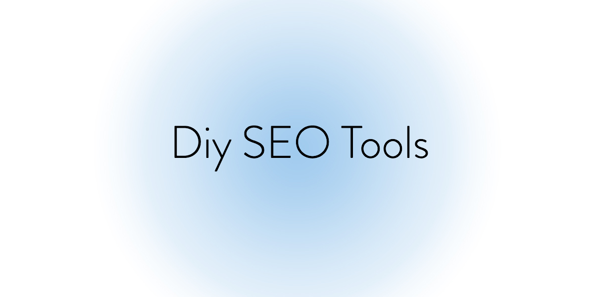 "An image with text ""DIY SEO"""
